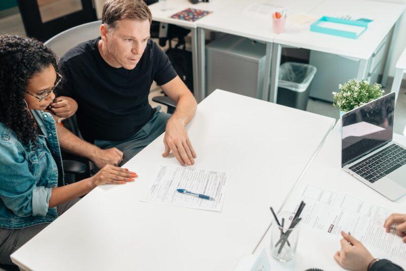 financiele planning gesprek